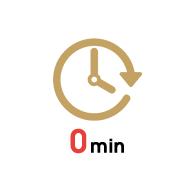 移動時間・待ち時間がゼロ